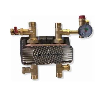 Systemtrennung mit Wärmetauscher 30 kW